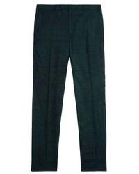Pantalón de vestir verde oscuro