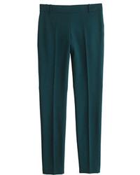 Pantalon de vestir verde oscuro original 4698018