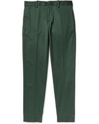Pantalón de vestir verde oscuro de Acne Studios