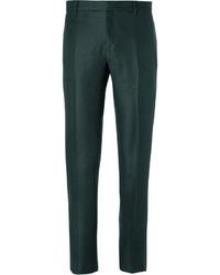 Pantalón de vestir verde oscuro de Burberry