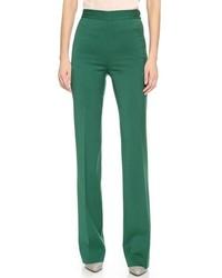 Pantalón de vestir verde oscuro de Dsquared2