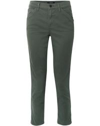 Pantalón de vestir verde oscuro de J Brand