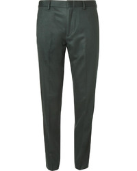 Pantalón de vestir verde oscuro de J.Crew