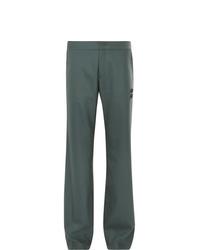Pantalón de vestir verde oscuro de Off-White