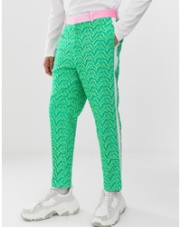Pantalón de vestir verde de ASOS Edition