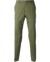 Pantalón de vestir verde de Valentino