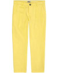 Pantalones amarillos