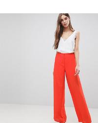 Pantalones anchos a lunares rojos de Y.A.S Tall