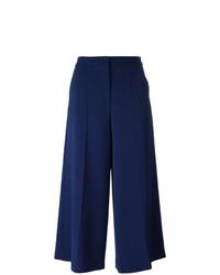 Pantalones anchos azul marino de Boutique Moschino