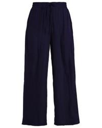 Pantalones anchos azul marino de FreeQuent