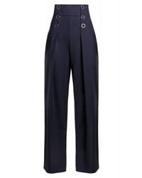 Pantalones anchos azul marino de Karl Lagerfeld