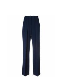 Pantalones anchos azul marino de MSGM