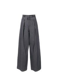 Pantalones anchos azul marino de N°21