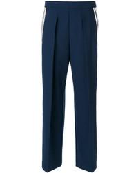 Pantalones anchos azul marino de Neil Barrett