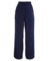 Pantalones anchos azul marino de Only