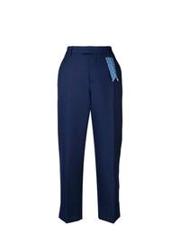 Pantalones anchos azul marino de The Gigi