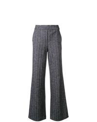 Pantalones anchos azul marino de Theory