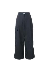Pantalones anchos azul marino de Walk Of Shame