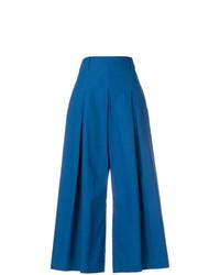 Pantalones anchos azules de Etro