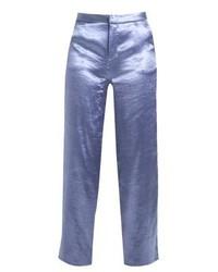 Pantalones anchos azules de NA-KD