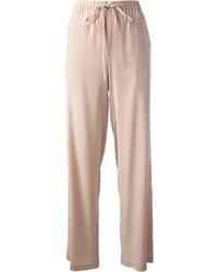 Pantalones anchos beige original 4512366