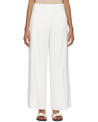 Pantalones anchos blancos de Acne Studios