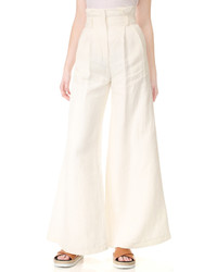 Pantalones anchos blancos de Awake