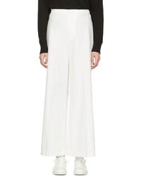 Pantalones anchos blancos de Isabel Marant