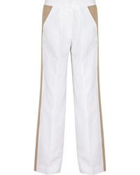 Pantalones anchos blancos de J.Crew