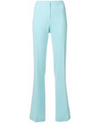 Pantalones anchos celestes de Moschino