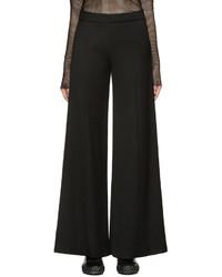 Pantalones anchos de lana negros de Acne Studios