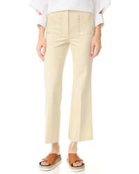 Pantalones anchos en beige de Edun