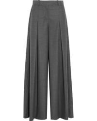 Pantalones anchos en gris oscuro de J.Crew