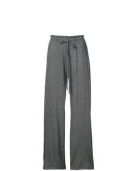Pantalones anchos en gris oscuro de The Row