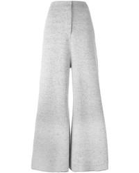 Pantalones anchos grises de Stella McCartney