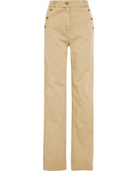Pantalones anchos marrón claro de J.Crew