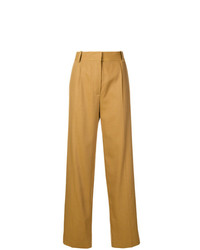 Pantalones anchos marrón claro de The Row