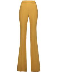 Pantalones anchos mostaza