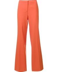 Pantalones anchos naranjas de Diane von Furstenberg