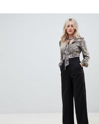 Pantalones anchos negros de Asos Petite