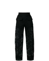 Pantalones anchos negros de Chloé