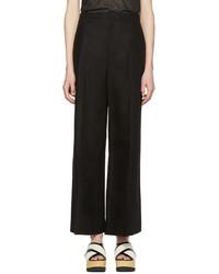 Pantalones anchos negros de Isabel Marant