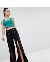 Pantalones anchos negros de Parallel Lines