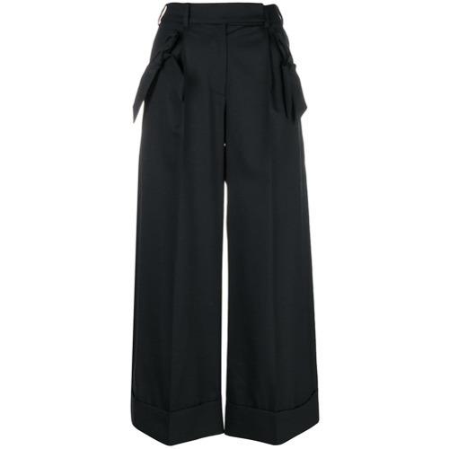 Pantalones anchos negros de Simone Rocha