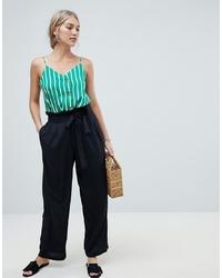 Pantalones anchos negros de Vero Moda
