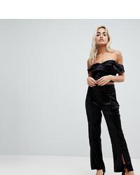 Pantalones anchos negros de Vero Moda Petite