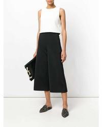 Pantalones anchos negros de Tibi