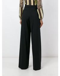 Pantalones anchos negros de Etro