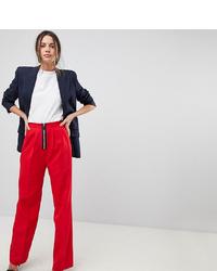 Pantalones anchos rojos de Asos Tall