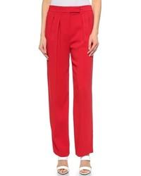Pantalones anchos rojos de Edun